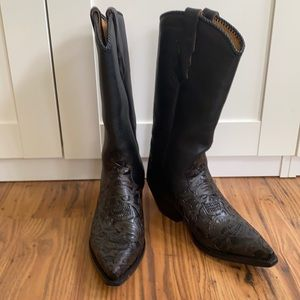 Liberty Leather Cowboy Boots